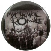 My Chemical Romance - 'Black Parade Promo' Button Badge